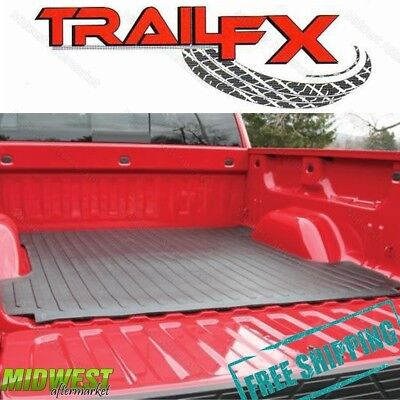 (TrailFX Drop In Rubber Truck Bed Mat Fits 2003-2017 Dodge Ram 6.5' Bed)