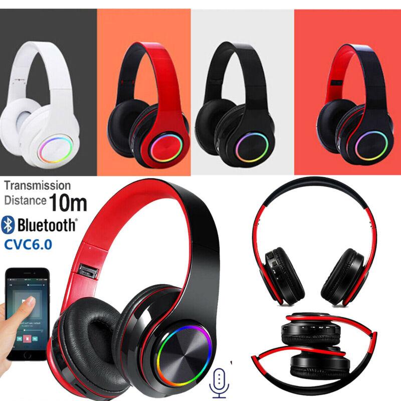 On Ear Kopfhörer Bluetooth5.0 Kabellos Faltbare Bass Headphones Stereo Kopfhrer