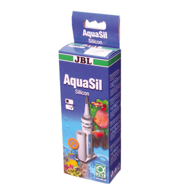 JBL AquaSil 80ml - transparent Silikon Kleber Silikonkleber Aquarienkleber