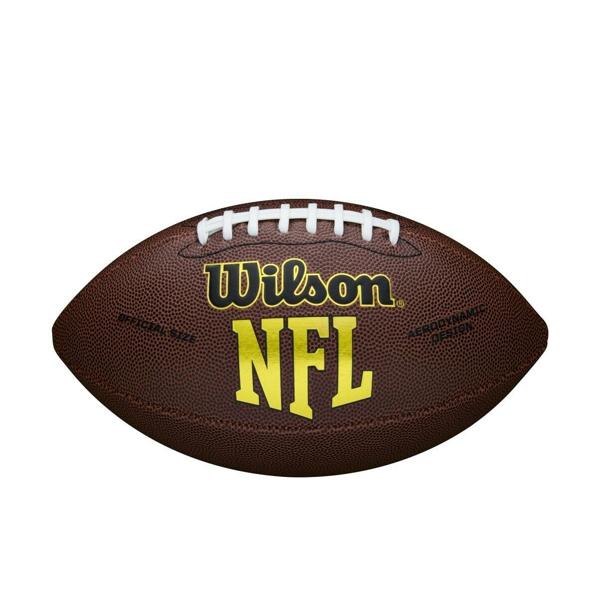 Original WILSON NFL American Football WTF1445 Force Official Size Composite SALE