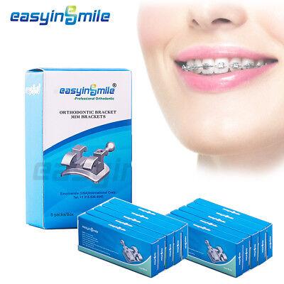 Easyinsmile 10packs Of Orthodontic Brackets Mini Teeth Braces Slot.022 3whook