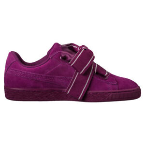 Chaussures Casual Femme Suede Heart Satin II Puma Violet 37