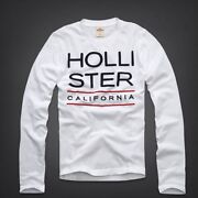 Mens Hollister Long Sleeve Shirt Small