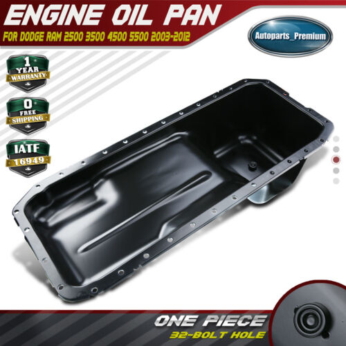 A-Premium Engine Oil Pan for Dodge Ram 1500 2500 3500 4500 5500