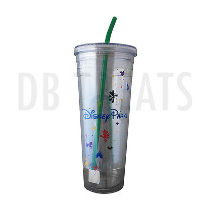 Starbucks Disney Parks Cold Water   Drink Cup Tumbler Venti 24 Fl Oz Disneyland