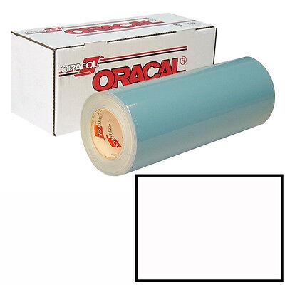 Oracal 751 15in X 50yd 010 White