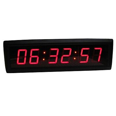 Novelty 1.8 LED Wall Clock For Home Office LED Countdown/up Timer With Remote