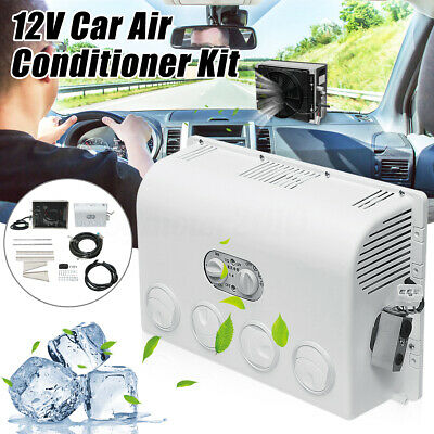 12V 15°C Car Hanging Air Conditioner Fan Refrigeration For
