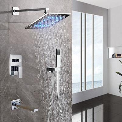 Chrome Finish 3-Ways Shower Faucet 8