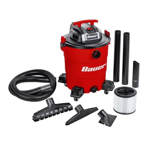 Bauer 14 Gallon Wet/Dry Vacuum