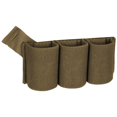 Helikon Triple Elastic Insert Range Magazine Army Airsoft Combat Carrier Coyote