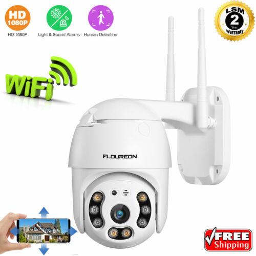 Dual Light 1080P HD IP CCTV Camera Waterproof Outdoor WiFi