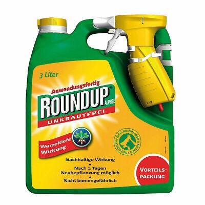 Unkrautfrei Round Up Alphee Anwendungsfertig 3000 ml Unkrautvernichter