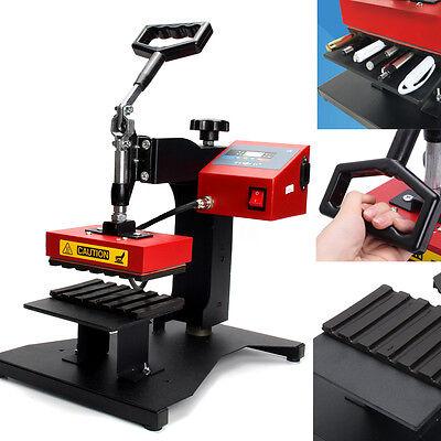 110v 6pcs Digital Pen Heat Press Machine For Ball-point Transfer Printing New