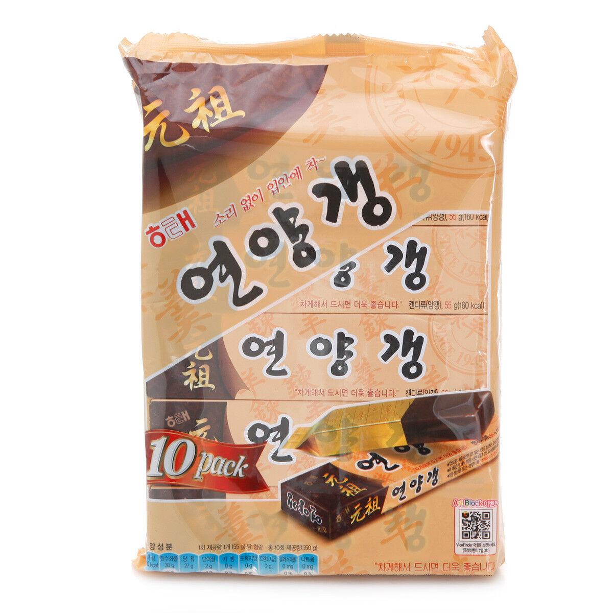 Yanggaeng Sweet Jelly of Red Beans Good Taste Korean Snack 5