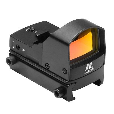 Ncstar Ddab Micro Red Dot Sight Reflex Optic With On Off Switch