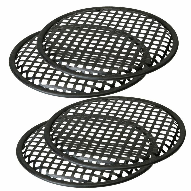 10 Inch Sub Woofer Metal Waffle Grills Universal Speaker Cover Guard 2 Pairs