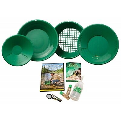 Garrett Deluxe Prospecting Mining Gravity Trap Gold Pan Kit with FREE