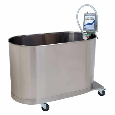 Whitehall Mobile Clinic Whirlpool Hi-boy 105 Gallon Hydrotherapy Tub Stainless
