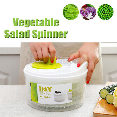 Salad Spinner Drying Vegetable Bowl Lettuce Herb Dryer Large