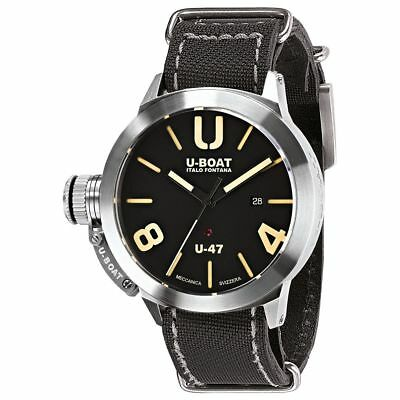 U-Boat Classico U-47 AS 2 Stainless Steel Black Dial 47mm Automatic Watch 8105 for sale  Shipping to India