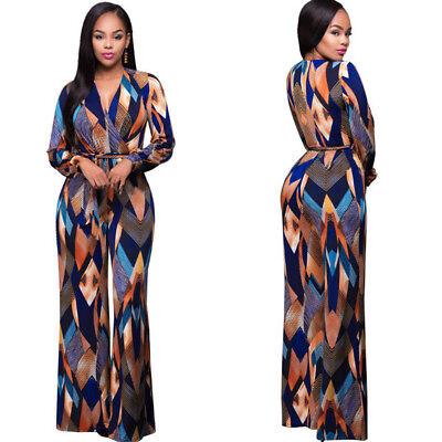 Plus Size Women Jumpsuit Romper Long Trousers Bodycon Clubwear Playsuit Dress XL - Plus Size Women Clubwear