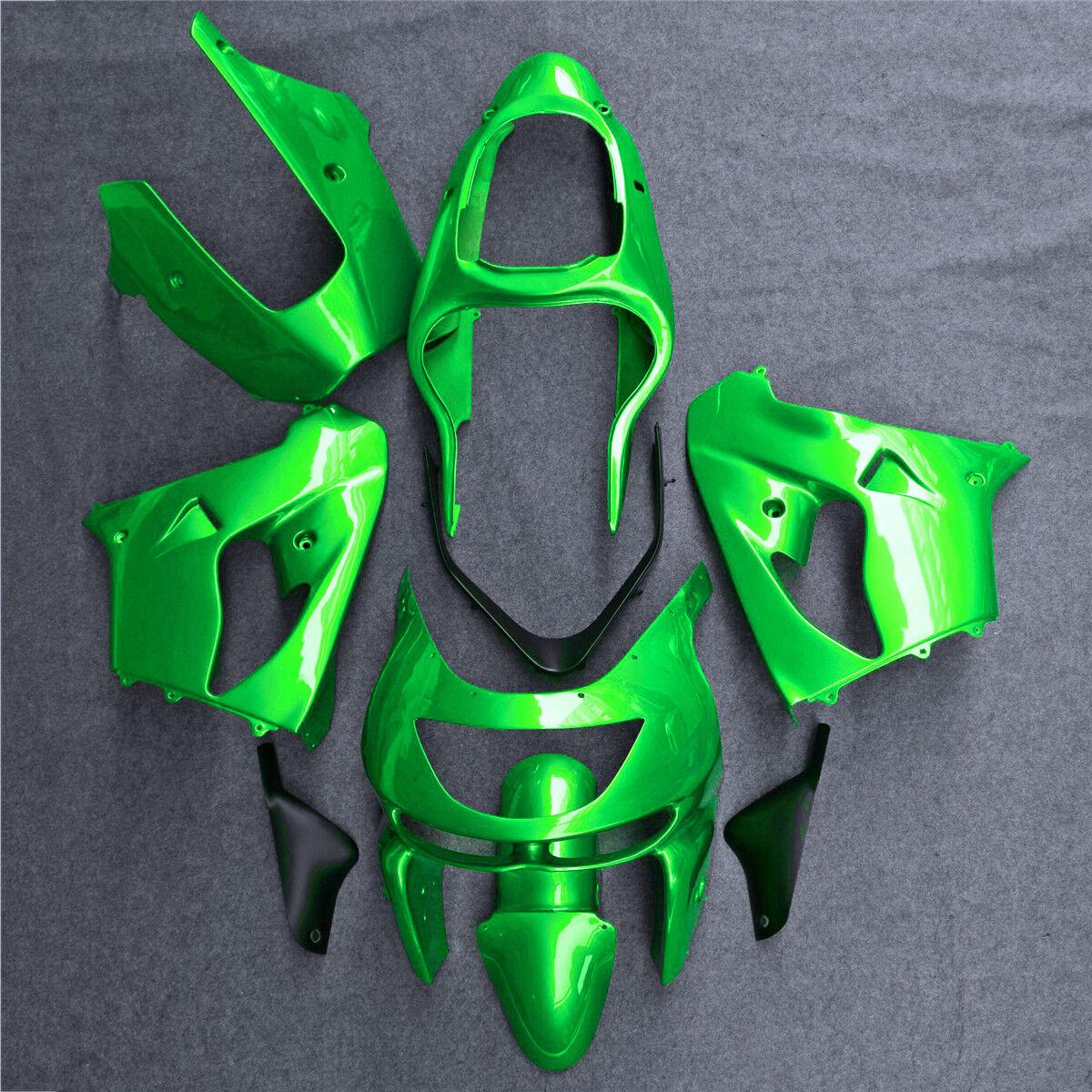 FAIRING Set Bodywork Cowl Fit For KAWASAKI 1998-1999 Ninja ZX9R Plastic Kit 004