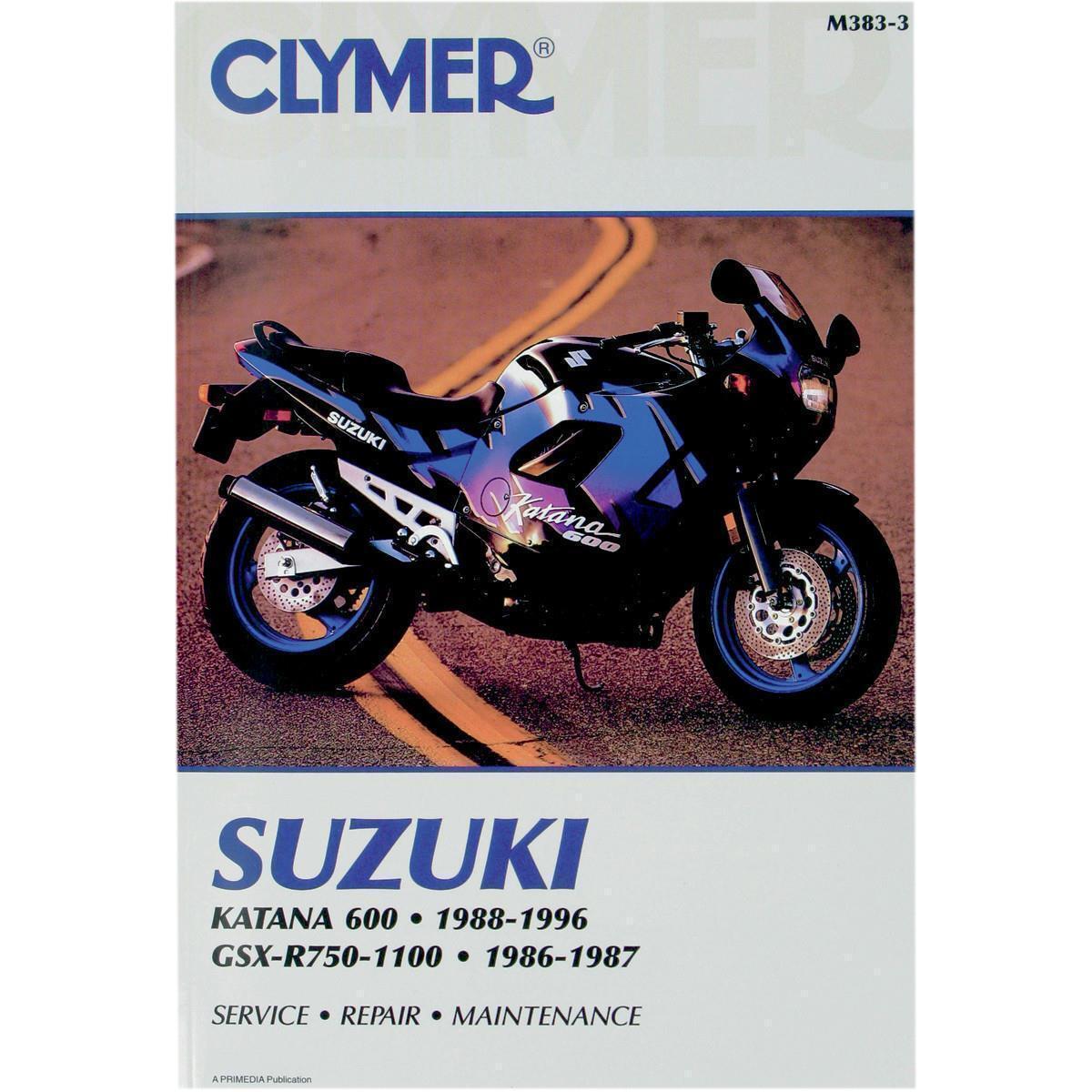 clymer m383 3 repair manual ebay rh ebay com au Suzuki Katana 750 Suzuki Ninja