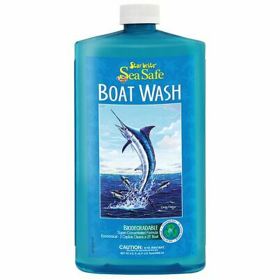 Sea Safe Wash - Star Brite Sea Safe Biodegradable Environmentally Friendly Boat Wash Soap 32 oz