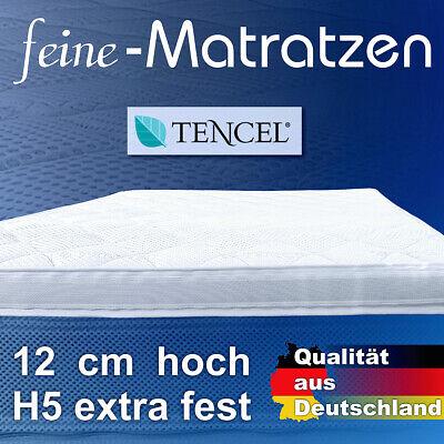 fester Matratzen Topper H5 12cm hoch, atmungsaktiv 180x200cm