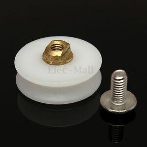 6mm v rainure roulette poulie rouleau roue coulissant 20mm pr douche porte vis. Black Bedroom Furniture Sets. Home Design Ideas