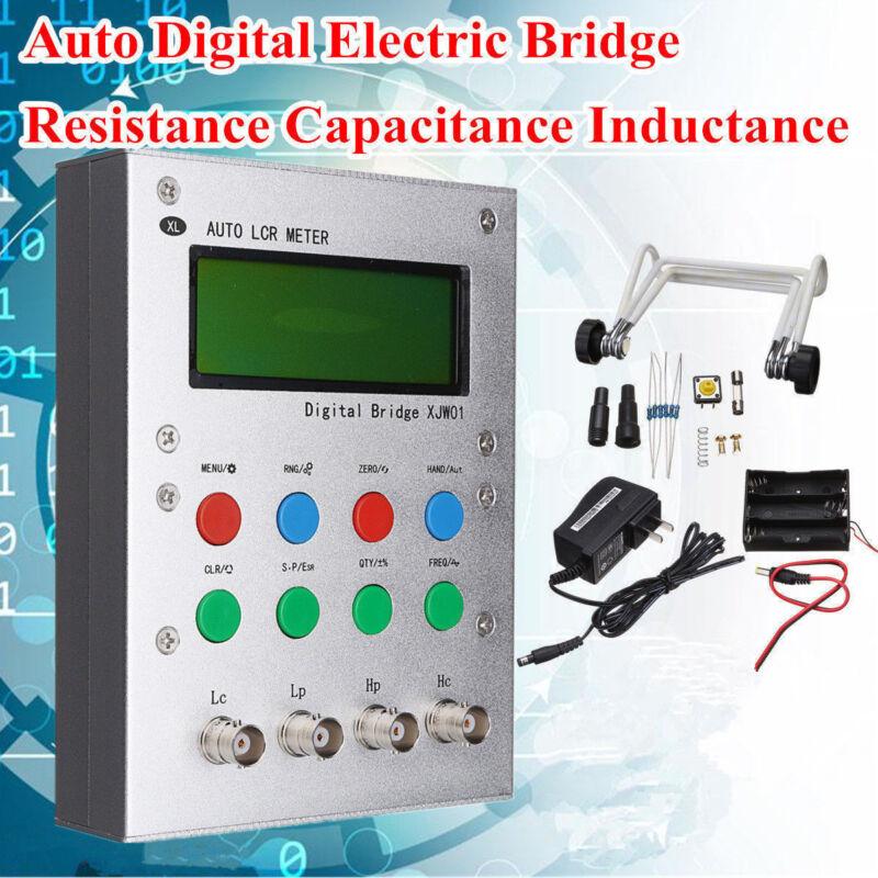 Digital Bridge Auto Resistance Capacitance Inductance LCR Meter ESR Tester 0.3%