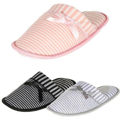 Damen Hausschuhe Pantoffeln Pantoletten Slipper Clogs Plüsch gr.36 37 38 39 40