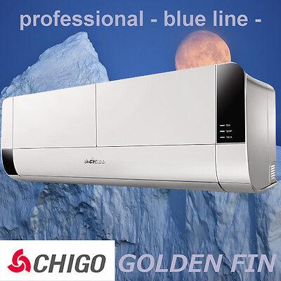 CHIGO Split Klimaanlage Inverter 12000 BTU 3,5KW Heizung, EEK A++