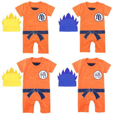 Baby Boy Dragon Ball Costume Romper Newborn Playsuit Infant Jumpsuit Outfit - Boy Dragon Costume