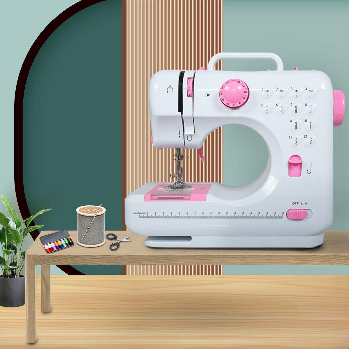 Portable Multifuncational Mini Stitches Household Desktop Se