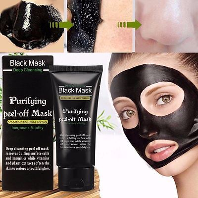 Black Face Mask Deep Cleansing Blackhead purifying peel-off mask Clean 50ml