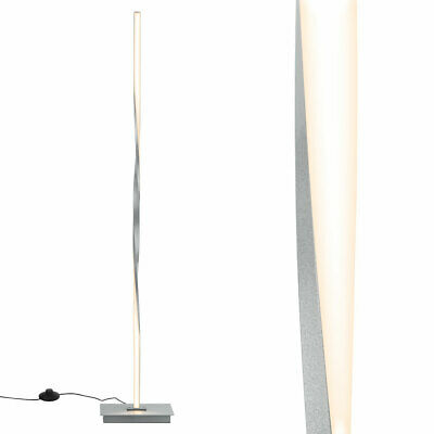 """48""""Helix LED Floor Lamp Modern Stand Pole Light w/Built-in L"""
