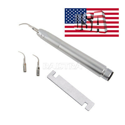 Usps Dental Air Scaler Handpiece 2 Holes With 3 Tips G1g2p1 Nsk Style Az2000