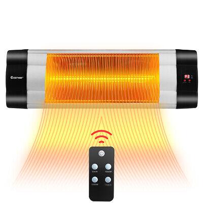 1500W Infrared Heater Patio Outdoor Garage Wall Mount Warmer
