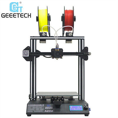 Quick Assembly A20M 3D Printer Dual Extruder Mix-Color Geeetech Factory Direct