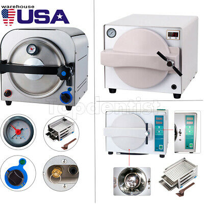 14l18l Dental Lab Autoclave Steam Sterilizer Vacuum Sterilization F Instrument