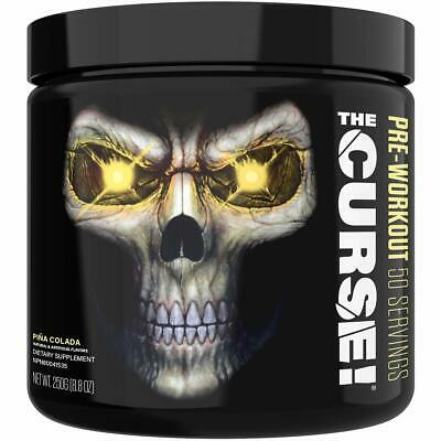 JNX Sports The Curse! Pre Workout Supplement | Pina Colada |