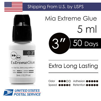 [US Shipping] 5ml Extreme Eyelash Glue Adhesive Fast Strong Extra Long Lasting