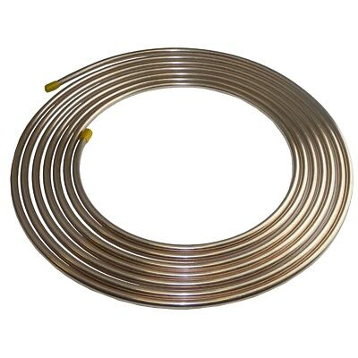 Copper Tubing Kit - Copper Nickel Brake Fuel Line Tubing Kit 3/8 OD 25 Ft Coil Roll  INLINE TUBE CN6