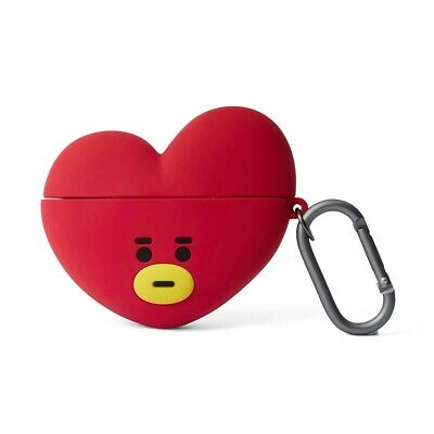 LINE FRIENDS BT21 Basic Case TATA for AirPods 1 & 2 w Keyring Official Goods BTS