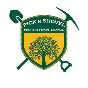 Pick N Shovel Property Maintenance. Handyman, Gardener,Demolition Canterbury Canterbury Area Preview