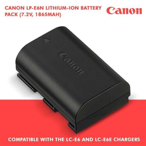 Canon Battery LP-E6 For EOS 60d 70D 80D 90D 6D 7D 5D Mark I II III IV