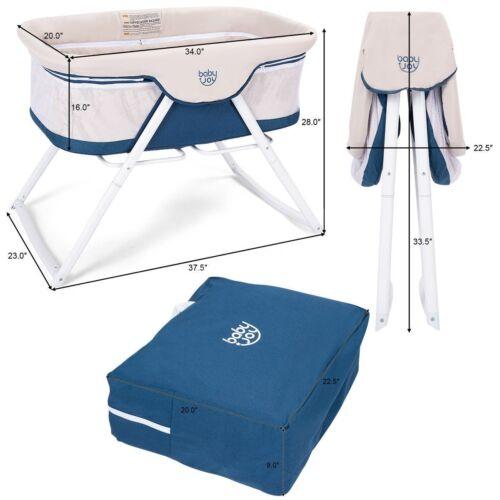 Travel Portable Baby Newborn Bed Bag Crib Infant Bassinet Cr
