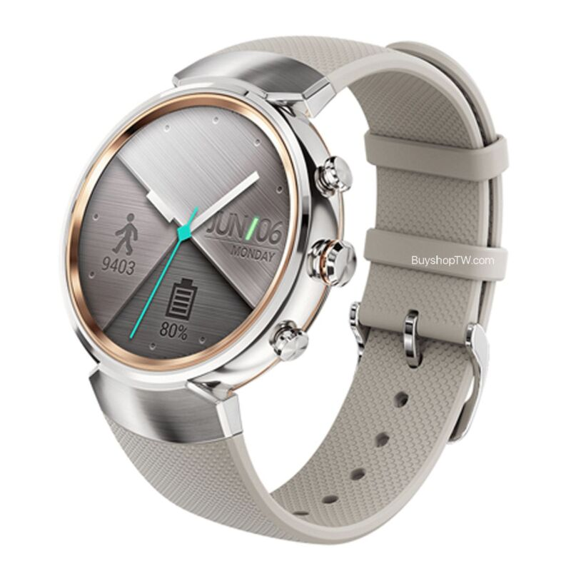 ASUS Zenwatch 3 Rubber Silver
